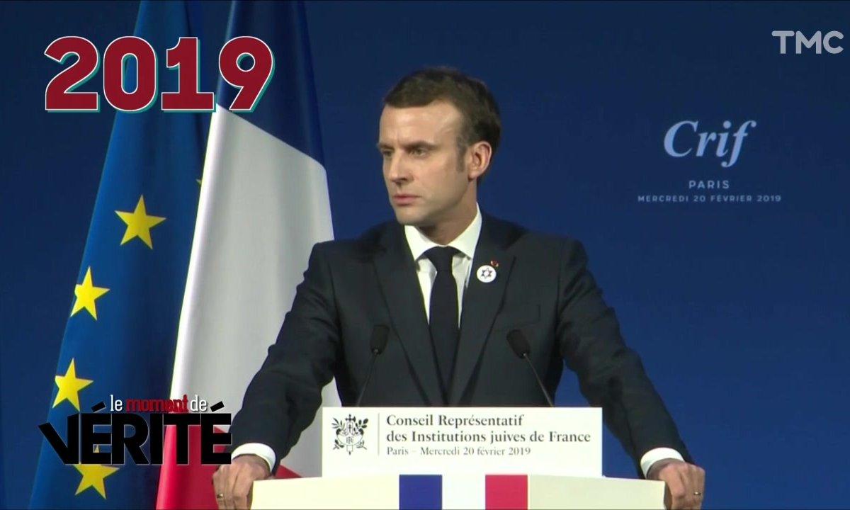 Le Moment de vérité : le constat d'échec d'Emmanuel Macron au dîner du CRIF