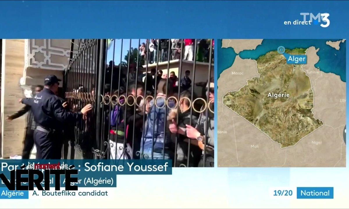 Le Moment de vérité : la difficile couverture médiatique des manifestations en Algérie