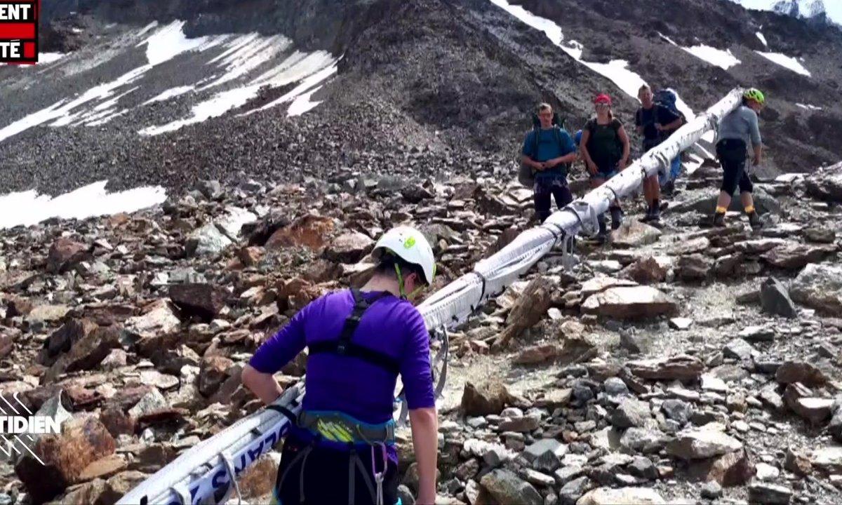 """Le Moment de vérité : face aux incivilités, le Mont-Blanc se dote d'une """"brigade blanche"""""""