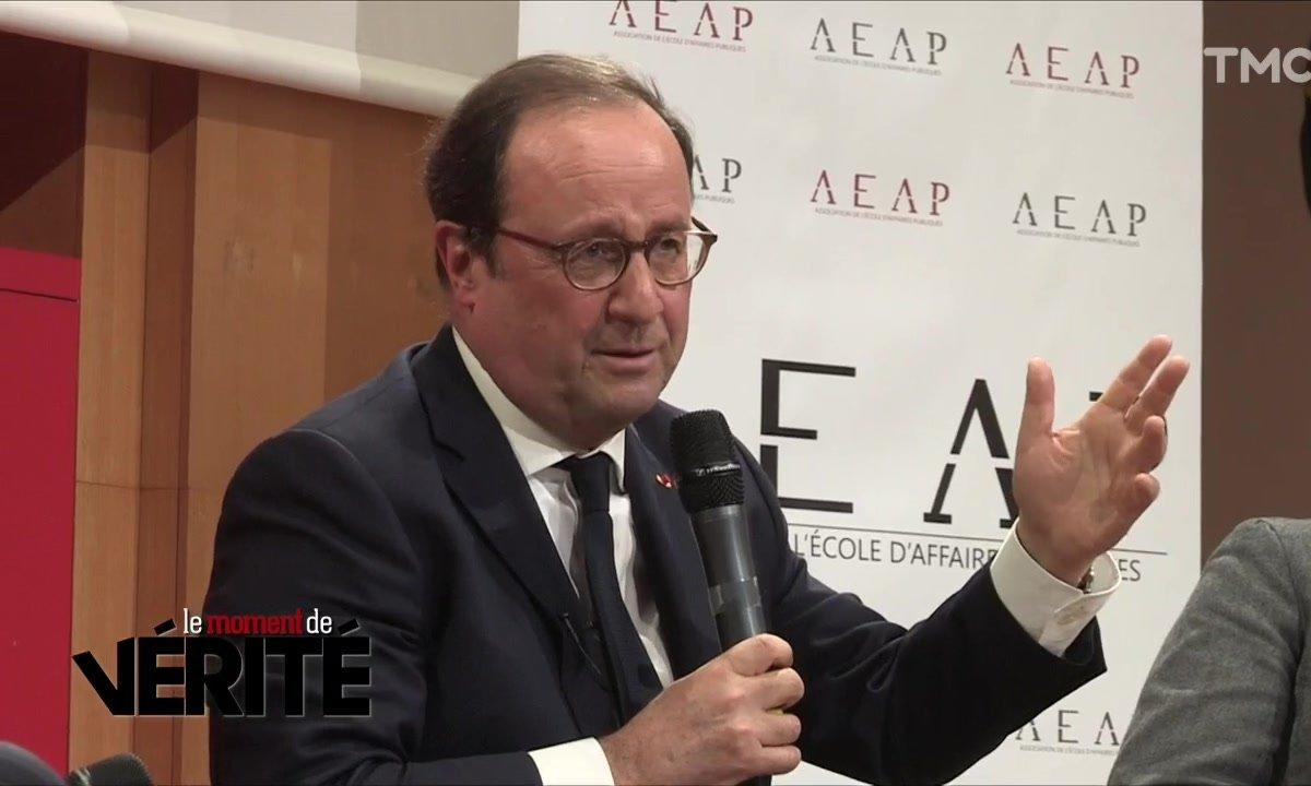 Le Moment de vérité : François Hollande en opération dézingage total