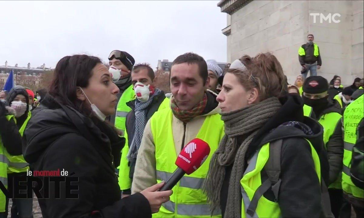 Moment de vérité : avec les gilets jaunes sur les Champs-Elysées