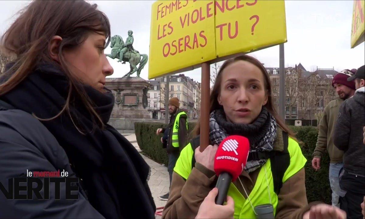 Le Moment de vérité : gilets jaunes contre journalistes