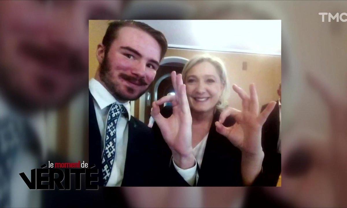 Le Moment de vérité : qui est Ruuben Kalep, le suprémaciste aux côtés de Marine Le Pen ?