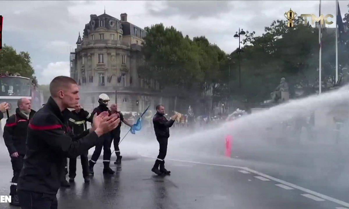 Le Moment de vérité : que s'est-il passé entre les pompiers et la police pendant la manif parisienne ?