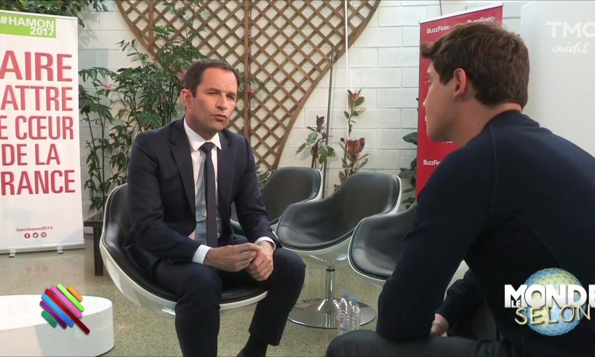 Le Monde selon... Benoît Hamon