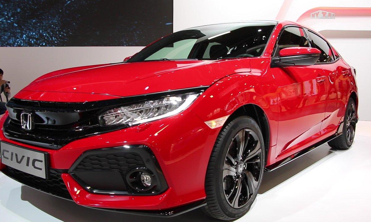 Mondial de l'Auto 2016 : Honda Civic 5 portes, une 10ème génération très typée sport