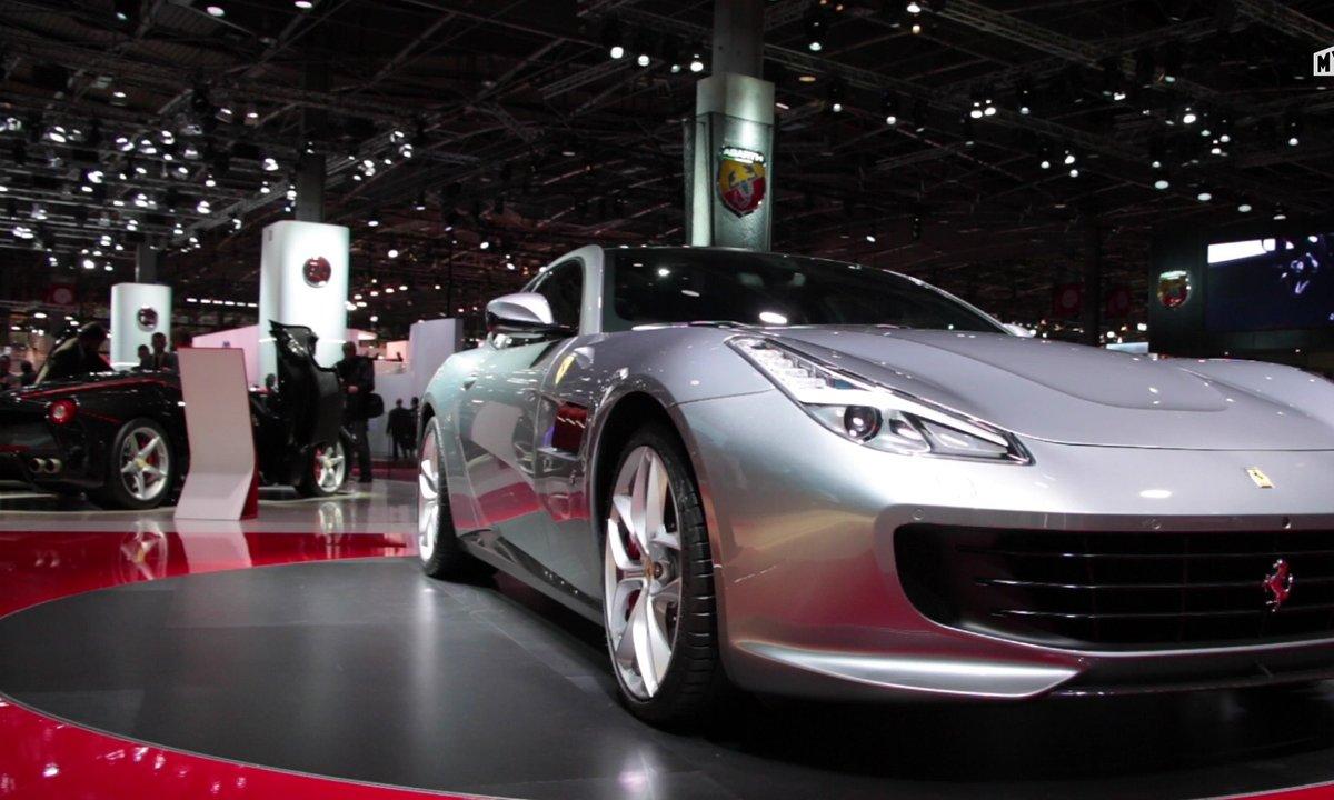 Mondial de l'Auto 2016 : Ferrari GTC4Lusso T, moins de chevaux, plus de plaisir ?