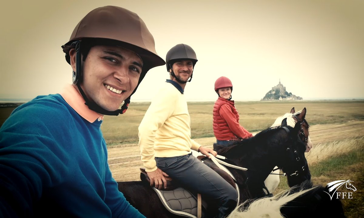 Le Mont Saint Michel à cheval - Sponsorisé