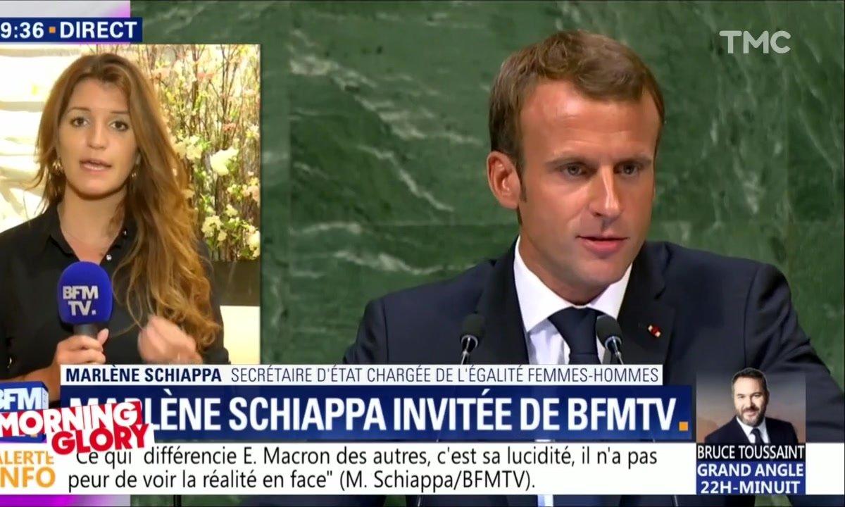 Morning Glory : Macron a dit, Schiappa répète