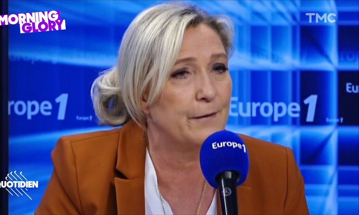Morning Glory : a priori prêter de l'argent à Marine Le Pen, c'est UN PEU risqué