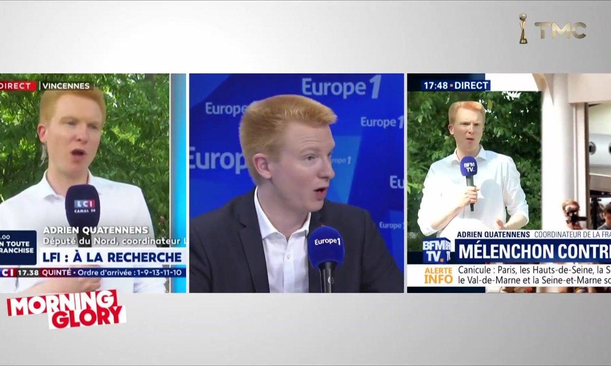 """Morning Glory : Adrien Quatennens est la nouvelle """"tête à claques"""" de la France insoumise"""