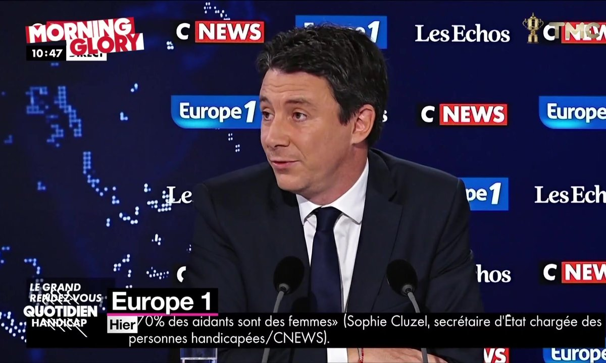 "Morning Glory : Benjamin ""papa"" Griveaux prend aux tripes"