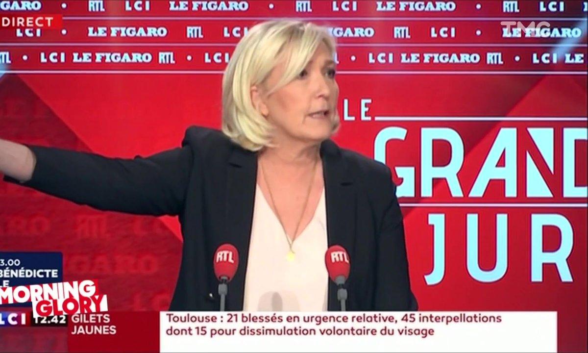 Morning Glory : la comparaison hallucinante de Marine Le Pen entre les éoliennes et… les migrants