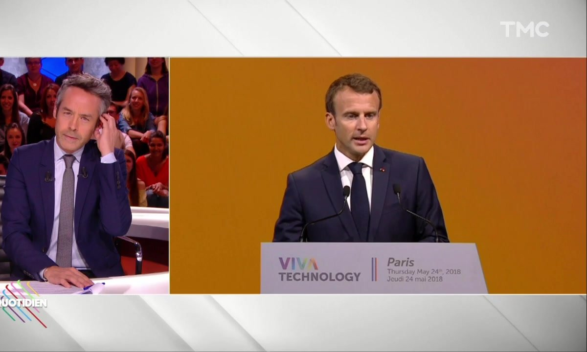 Morning Glory : la leçon d'anglais d'Emmanuel Macron