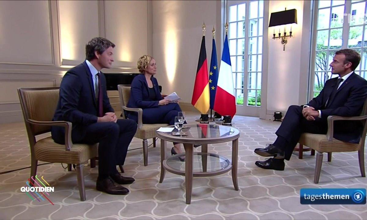 Morning Glory : das interview mit Emmanuel Macron