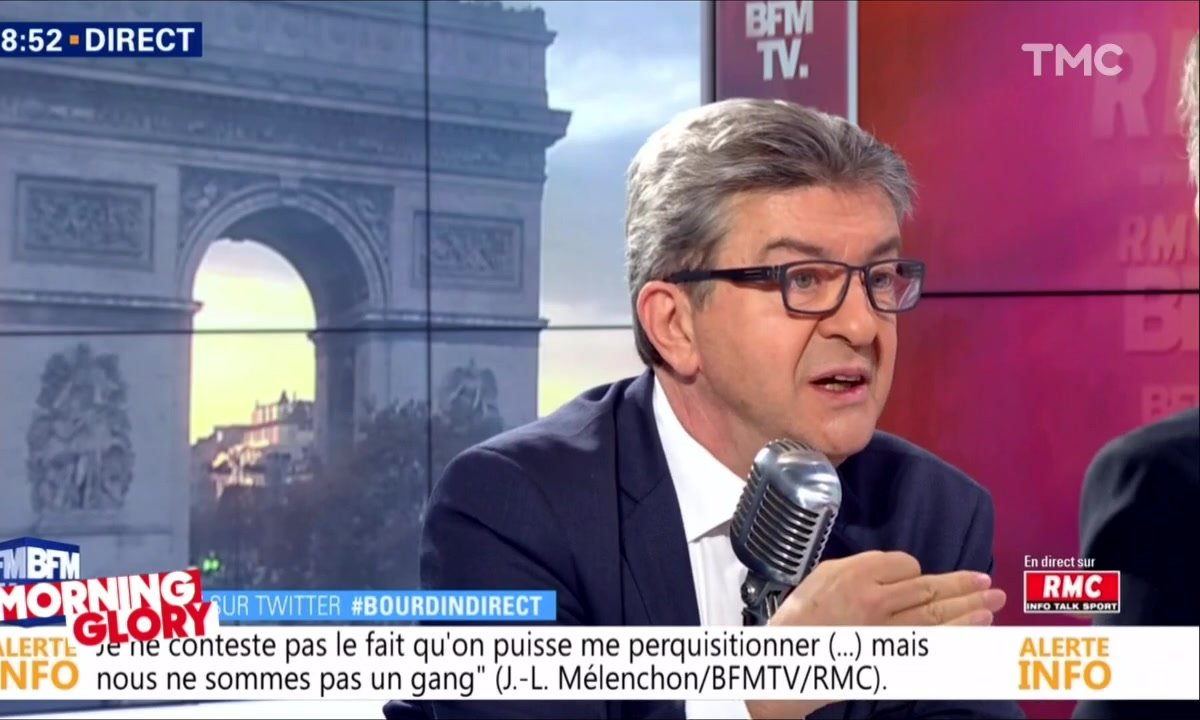 Morning Glory: la défense de Jean-Luc Mélenchon
