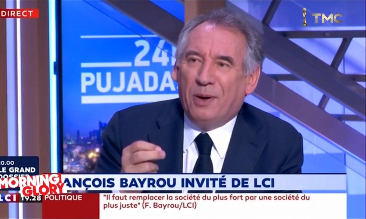 Morning Glory : François Bayrou n'est pas lent, il réfléchit