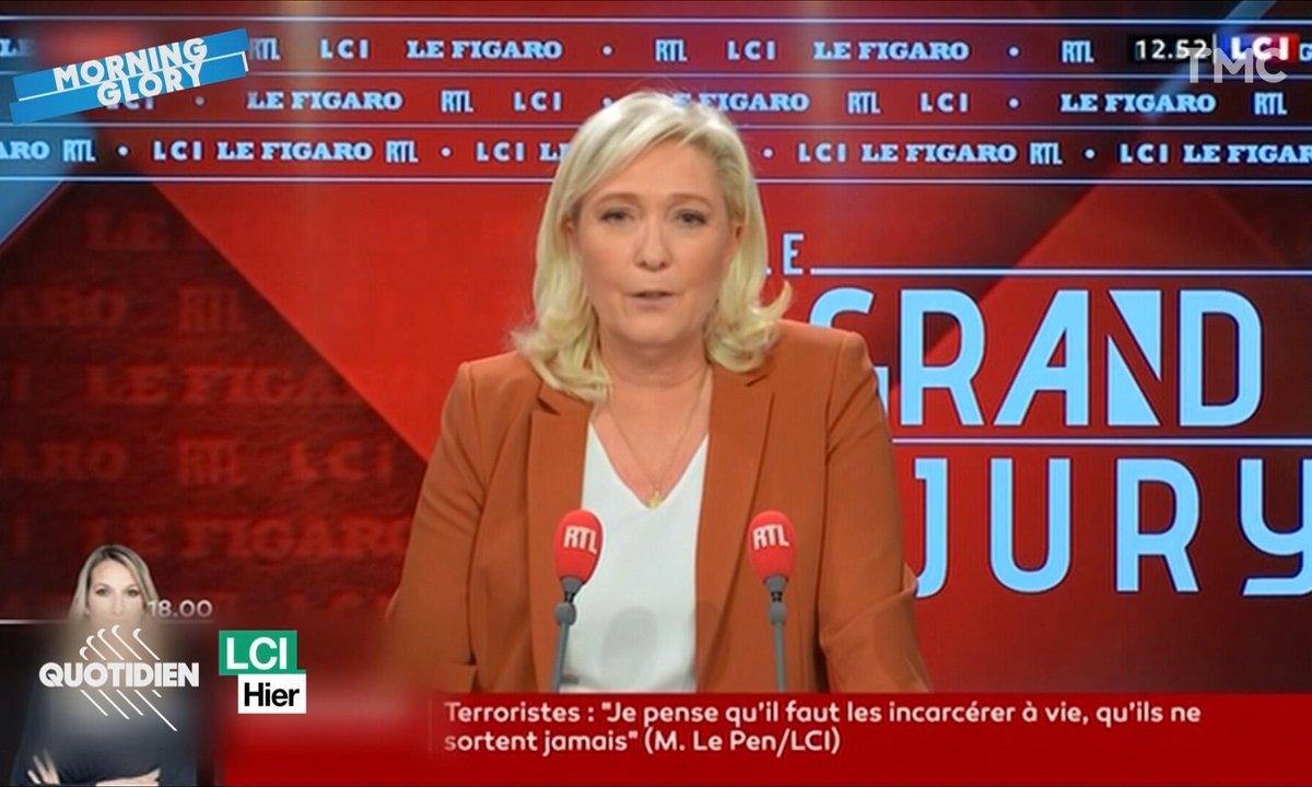 Morning Glory : Fun Fact pour ceux qui pensent voter Marine Le Pen en 2022