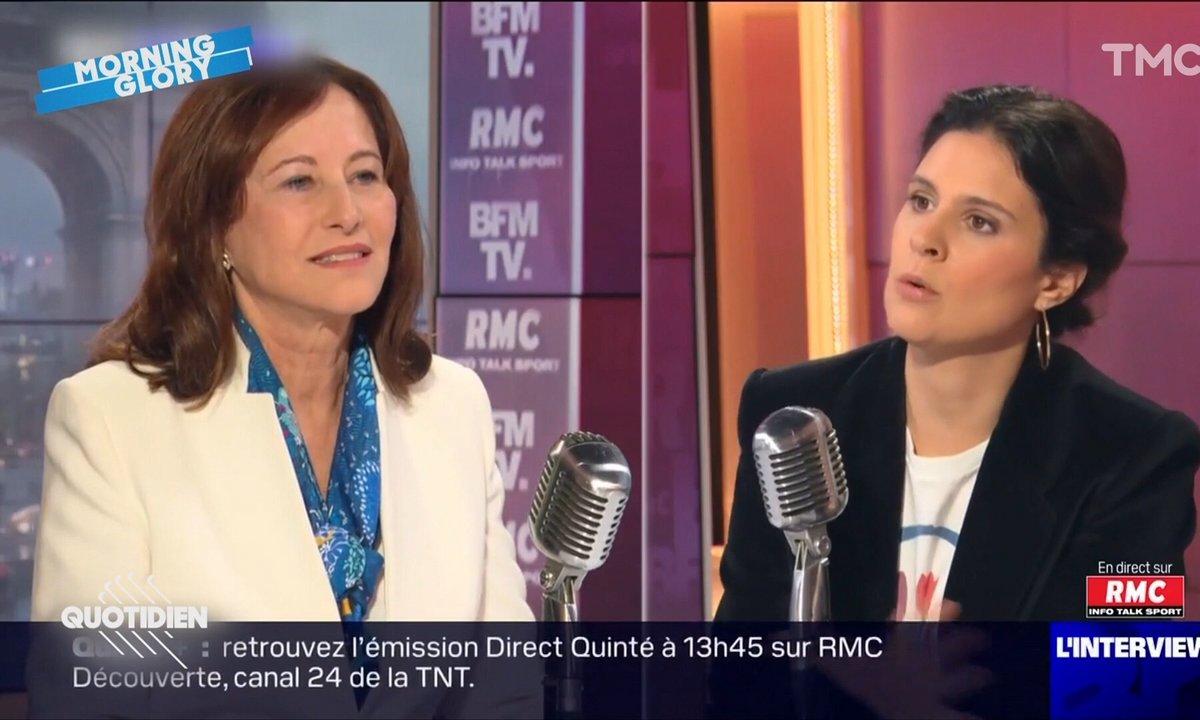 Morning Glory: grosse gêne sur BFMTV après le grand n'importe quoi de Ségolène Royal
