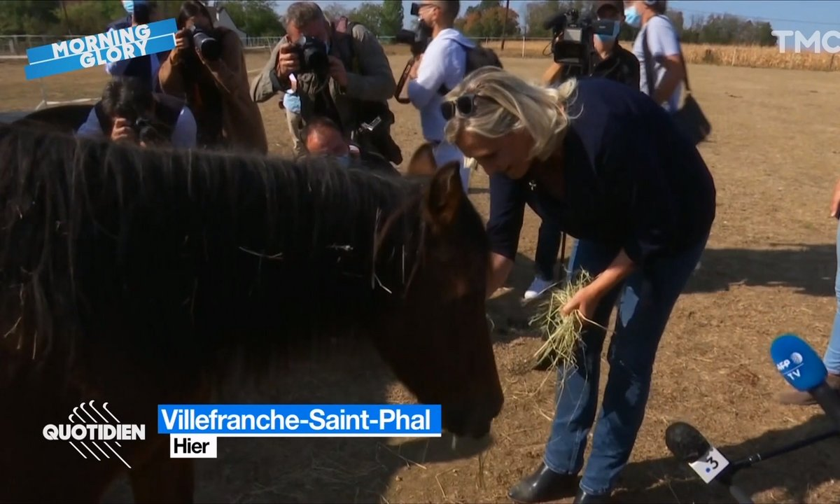 Morning Glory : il est pas un peu tôt pour voir ce genre d'images de Marine Le Pen ?
