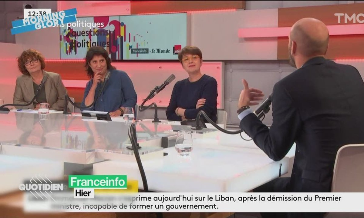 """Morning Glory: Jean-Pierre Elkabbach et Alain Juppé dans """"Retour vers le futur"""""""