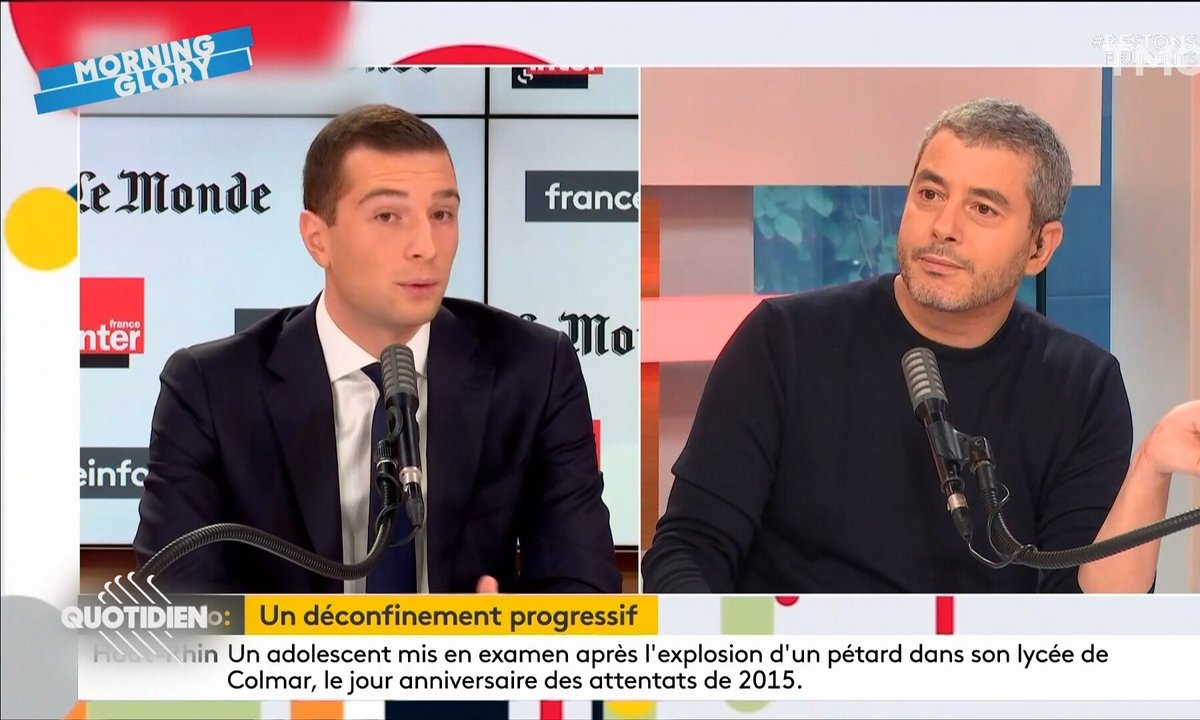 Morning Glory : Jordan Bardella mouché sur France Inter
