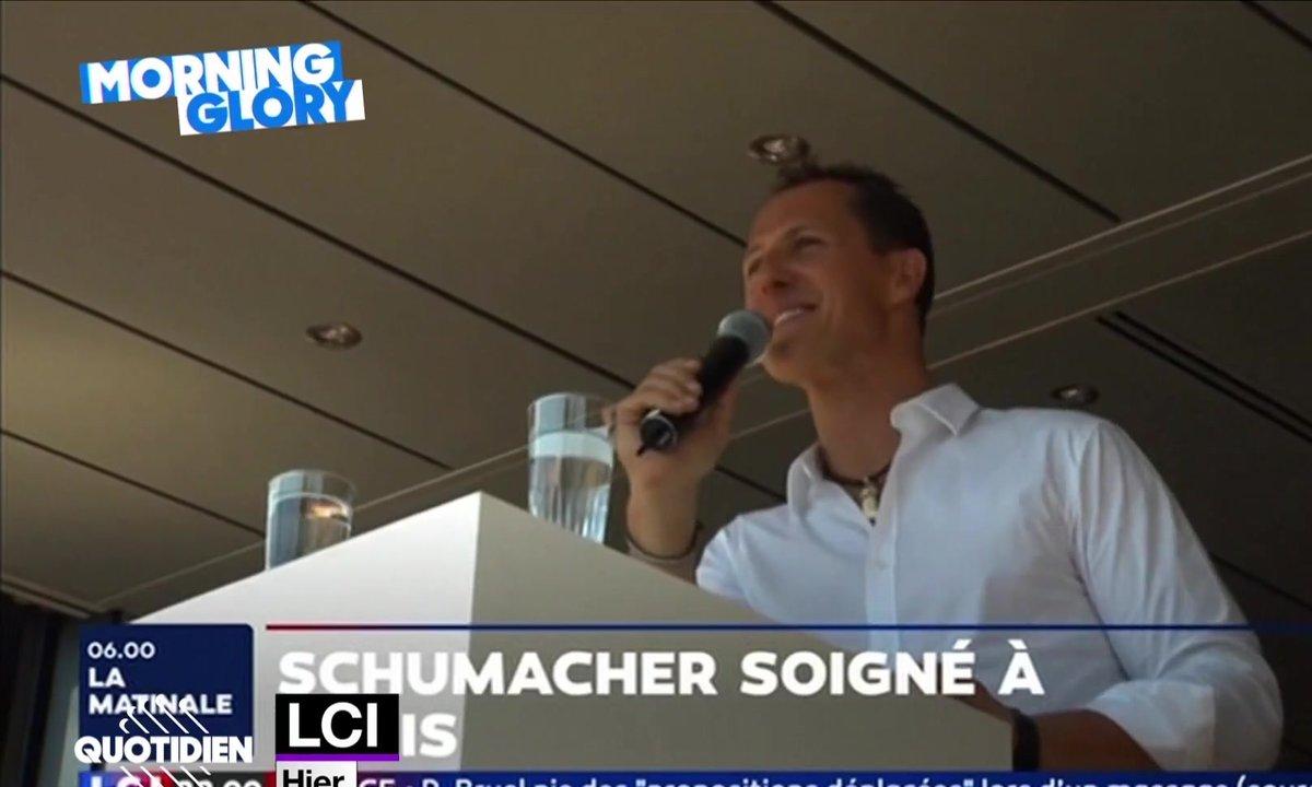 Morning Glory : l'hopistalisation de Michael Schumacher, secret le moins bien gardé de France