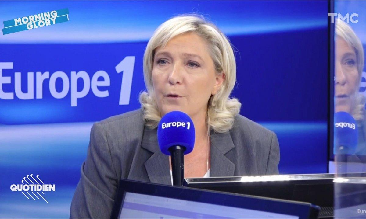 Morning Glory : le gros mensonge de Marine Le Pen sur le vote contre le pass sanitaire