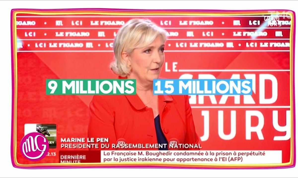 Morning Glory : Marine Le Pen et les chiffres