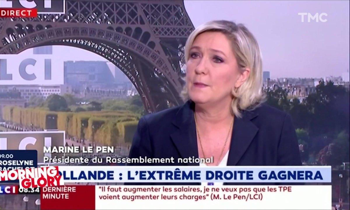 Morning Glory : Marine Le Pen vous offre une cure d'optimisme