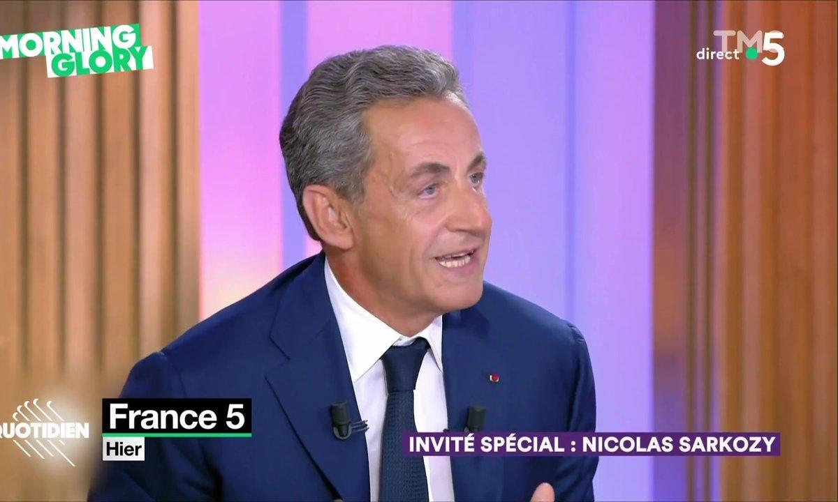 Morning Glory : Nicolas Sarkozy, ce philosophe qui s'ignore