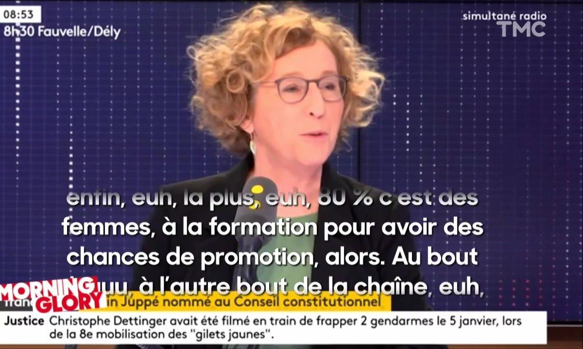 Morning Glory : on a beau chercher, on ne comprend vraiment rien à ce que dit Muriel Pénicaud