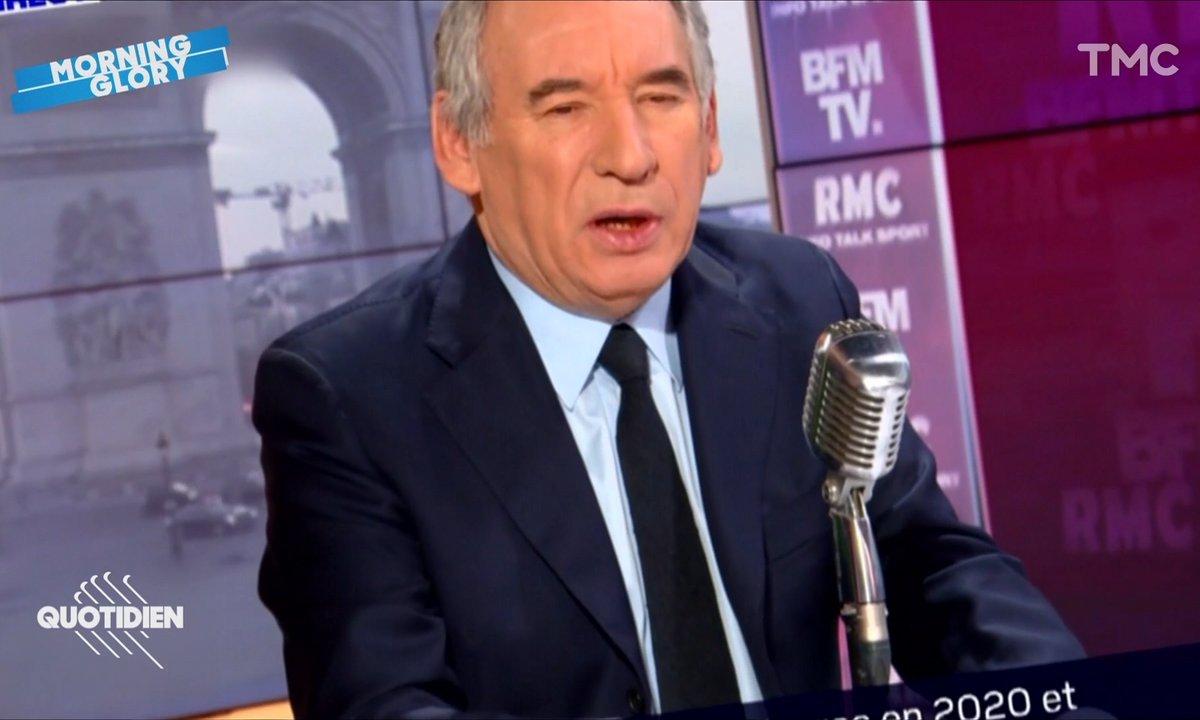 Morning Glory : on sait ENFIN à quoi sert François Bayrou