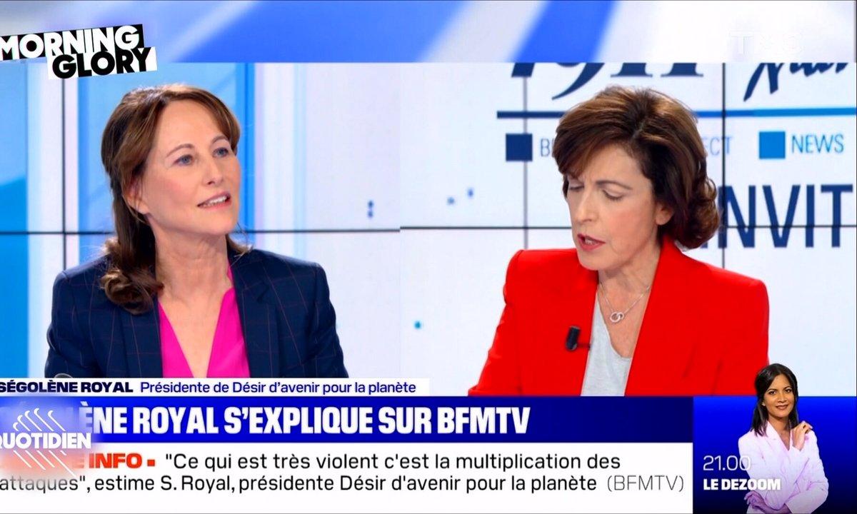 Morning Glory : pour se défendre Ségolène Royal tape... sur les morts