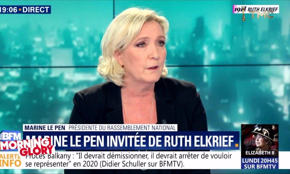 Morning Glory : pourquoi Marine Le Pen a-t-elle été si sympa avec Nicolas Sarkozy ?