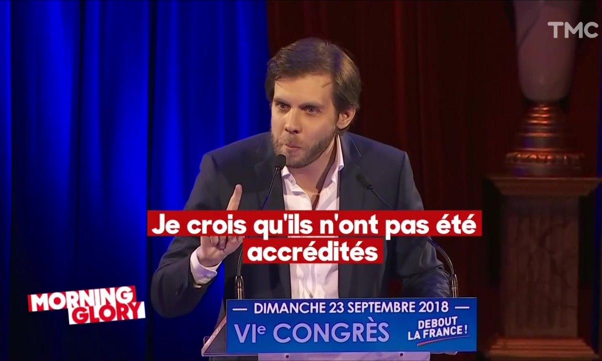 Morning Glory : Quotidien refoulé par Nicolas Dupont-Aignan ? Sisi, on était là !