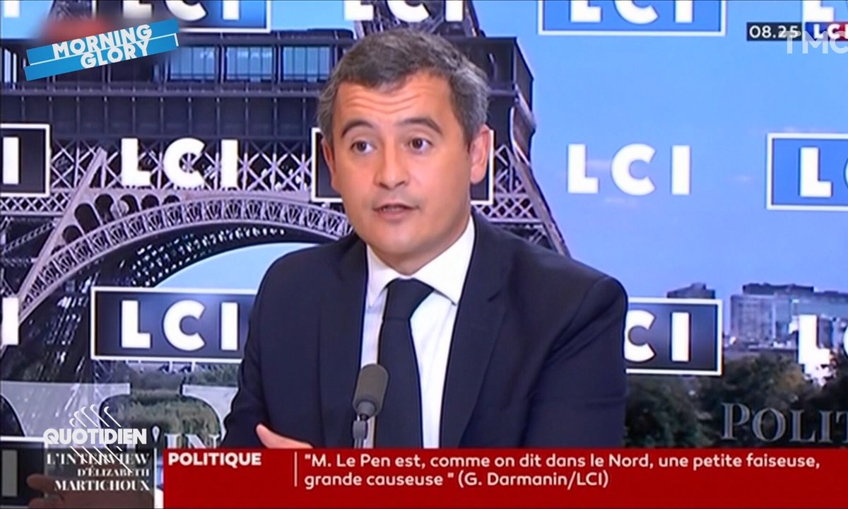 Morning Glory : scandale, Gérald Darmanin a dit le mot interdit à la télé