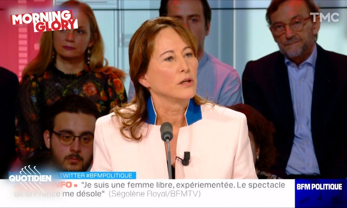 Morning Glory : Ségolène Royal, à conviction changeante