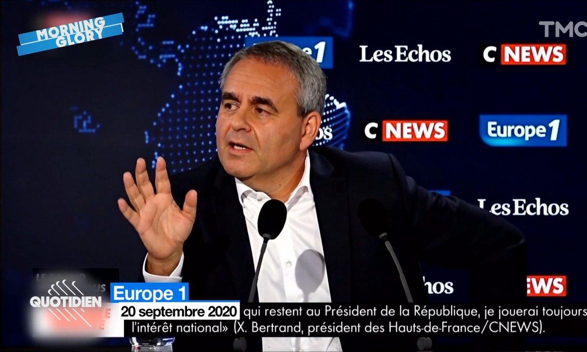 Morning Glory : Xavier Bertrand envoie bouler les habitants des Hauts-de-France