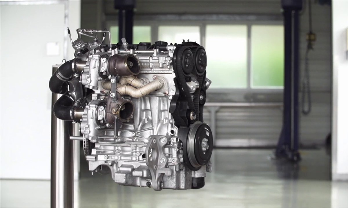 Le prototype du nouveau moteur Volvo de 450 chevaux en présentation officielle