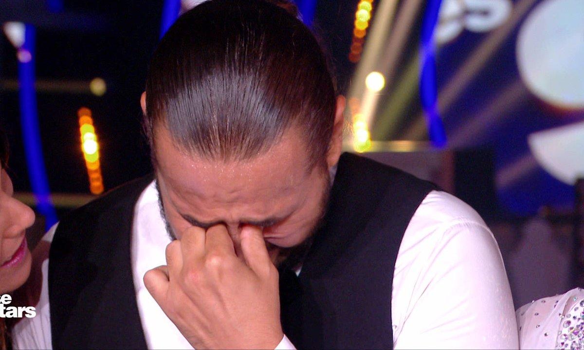 DALS - Moundir, ému aux larmes après un message de sa femme