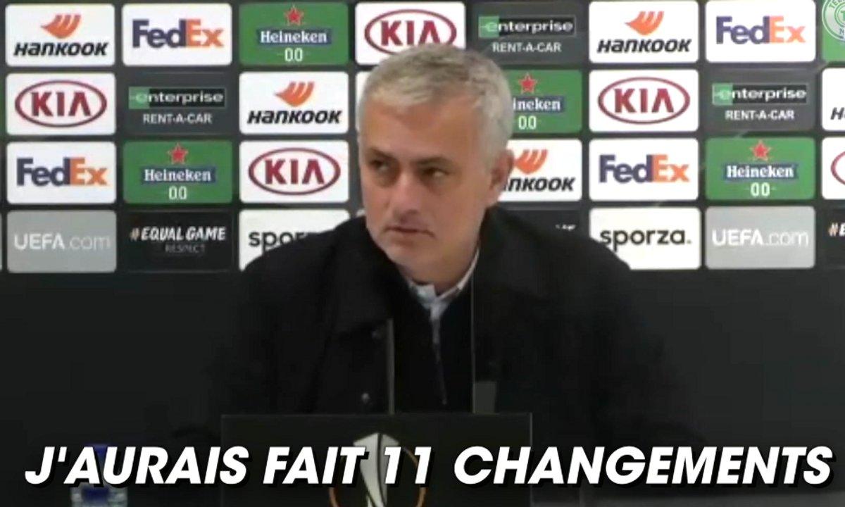 VIDEO - Mourinho trolle ses joueurs en conférence de presse