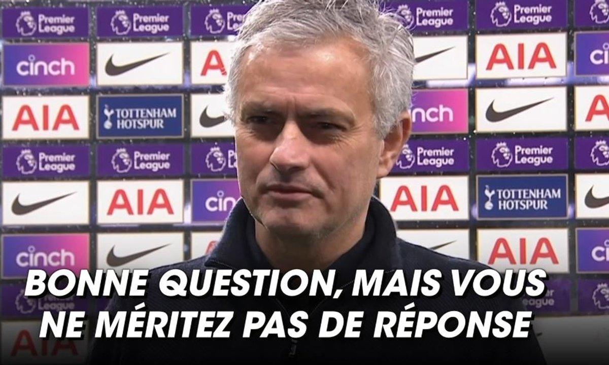 VIDEO - Mourinho fait du… Mourinho après la défaite contre Chelsea
