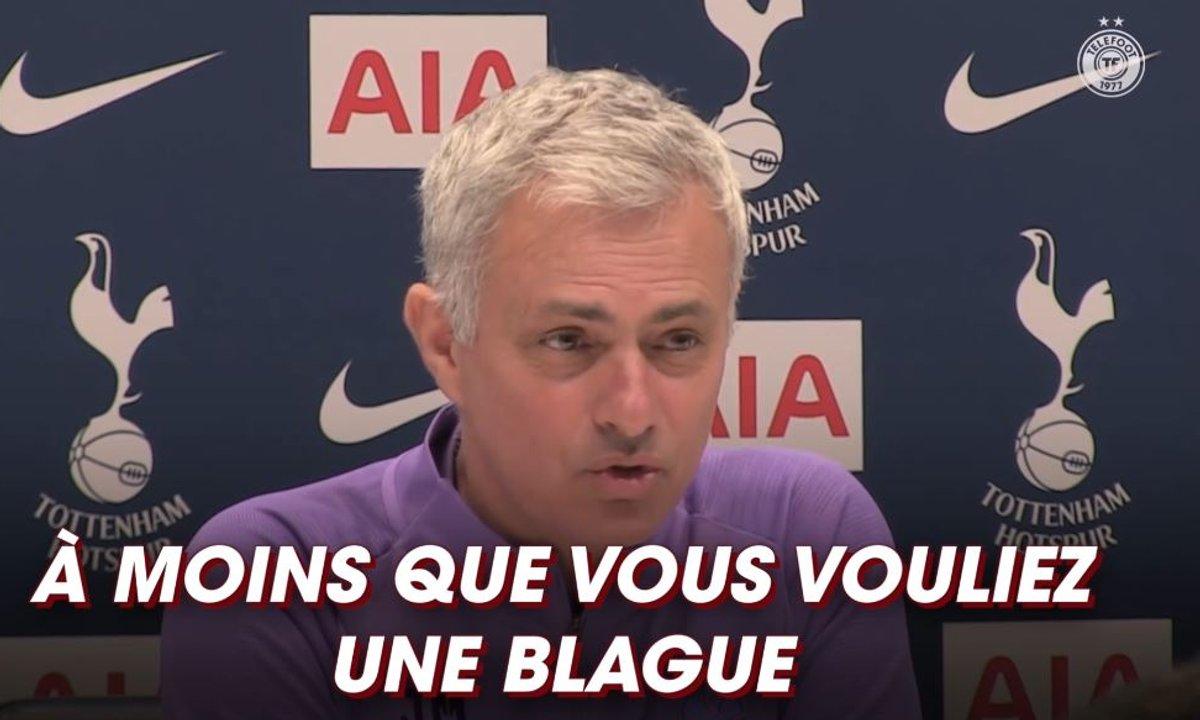 Quand Mourinho s'amuse des rumeurs Cavani en conf de presse