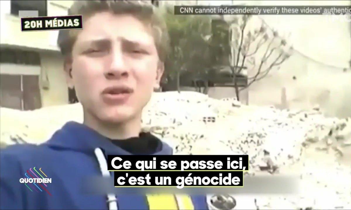 20H Médias : Julian Bugier au top, un jeune syrien au cœur de la guerre en Syrie