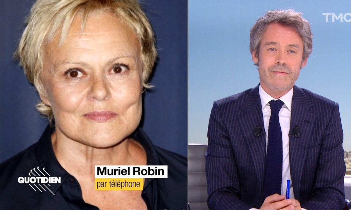 Le touchant hommage de Muriel Robin à Guy Bedos