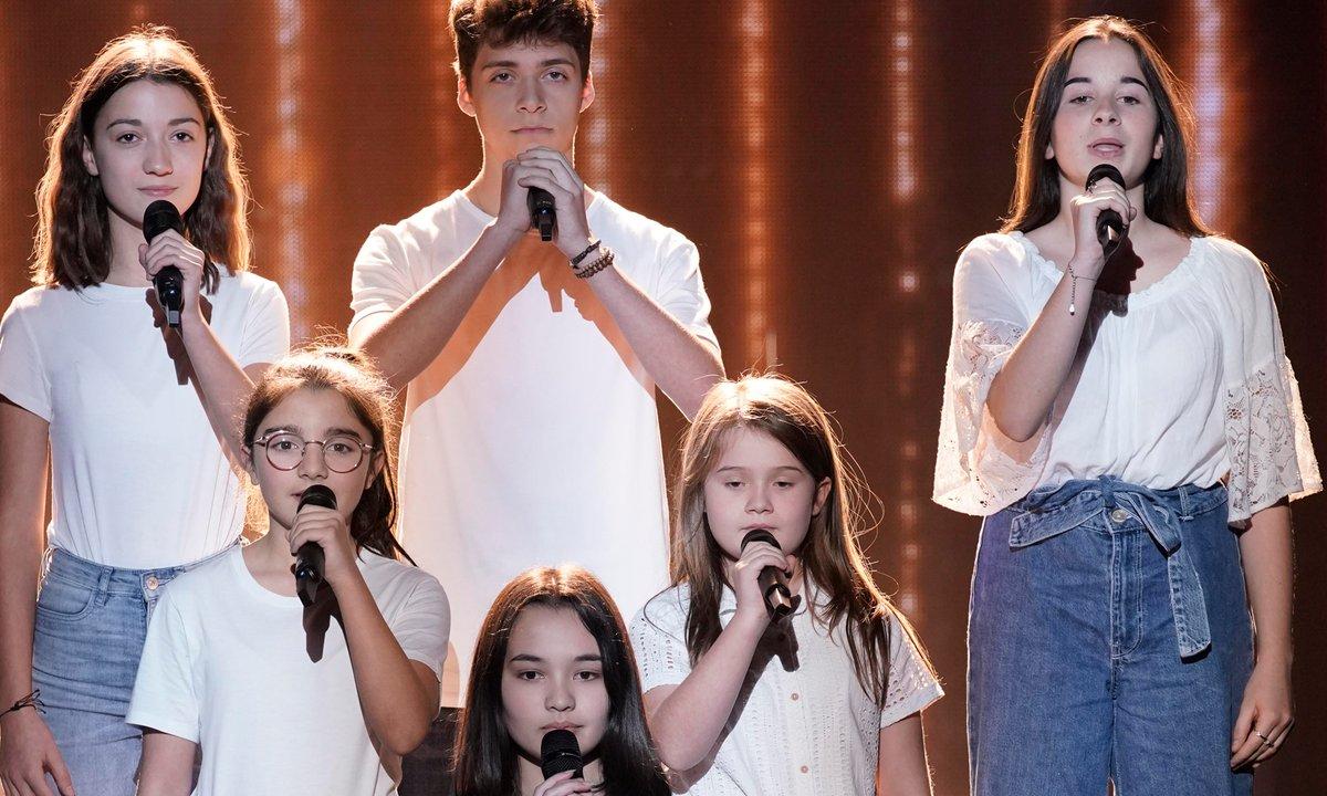 "The Voice Kids 2020 - Musical Kids chantent ""Show must go on"" de Queen ,,"