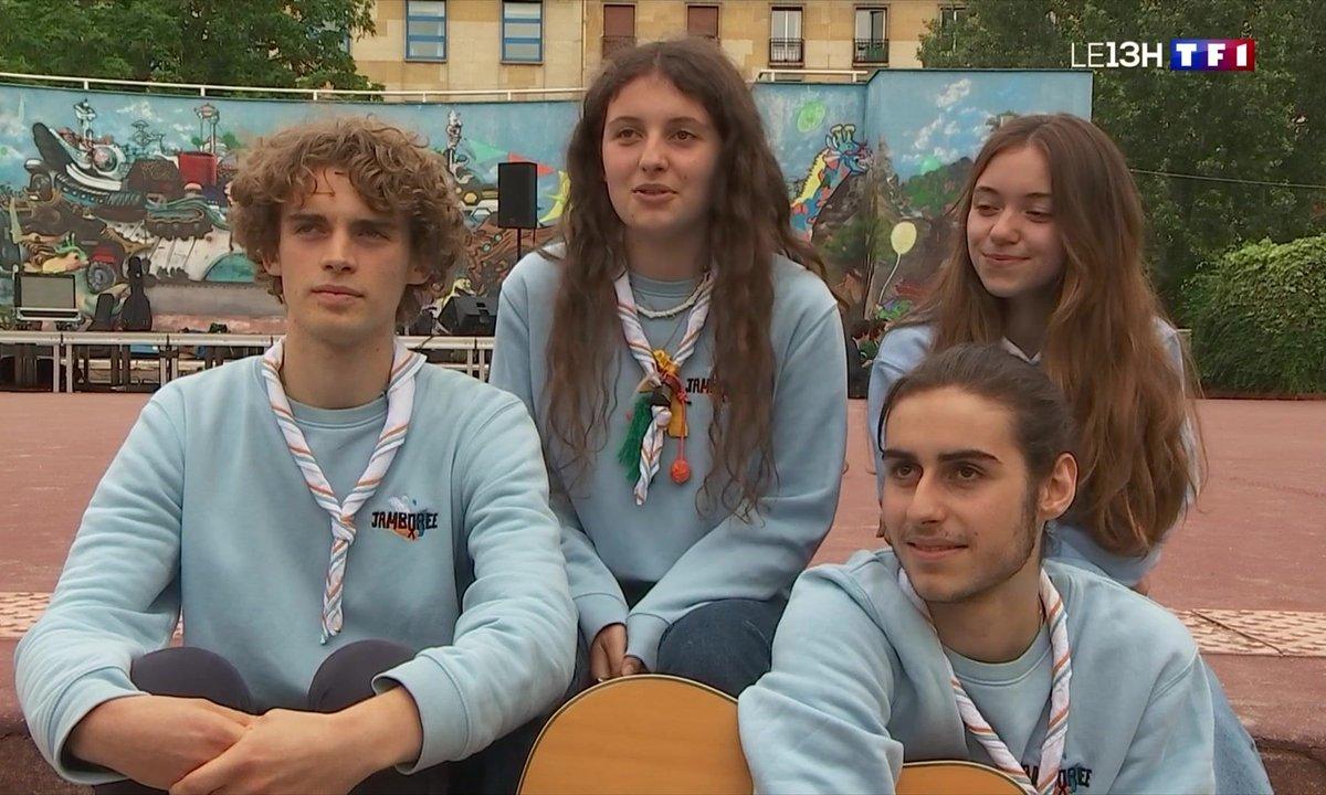 """Musique : rencontre avec le groupe de scouts """"Jamboree"""""""