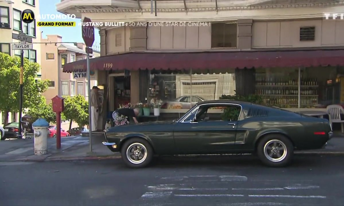 Mustang Bullitt : 50 ans d'une star de cinéma