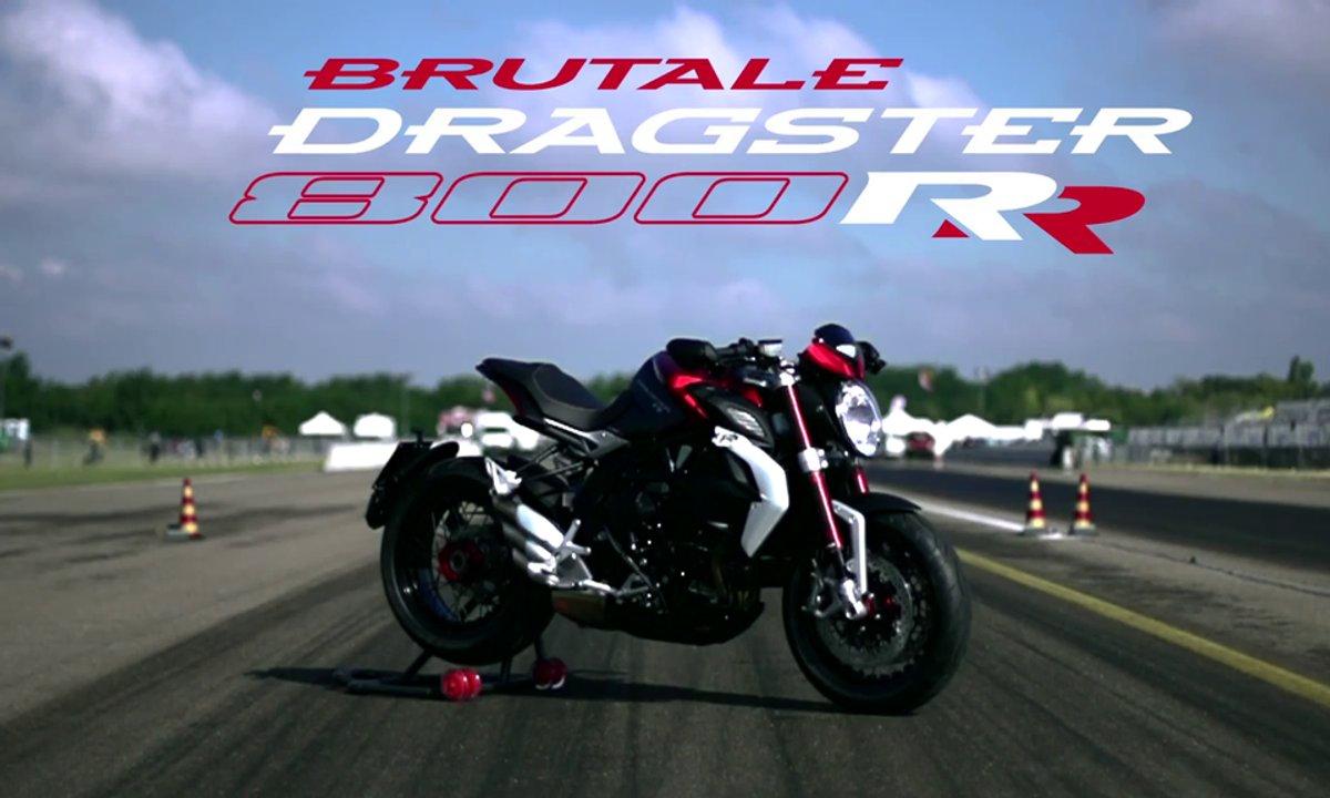 Nouvelle MV Agusta Brutale 800 Dragster RR : vidéo de présentation officielle